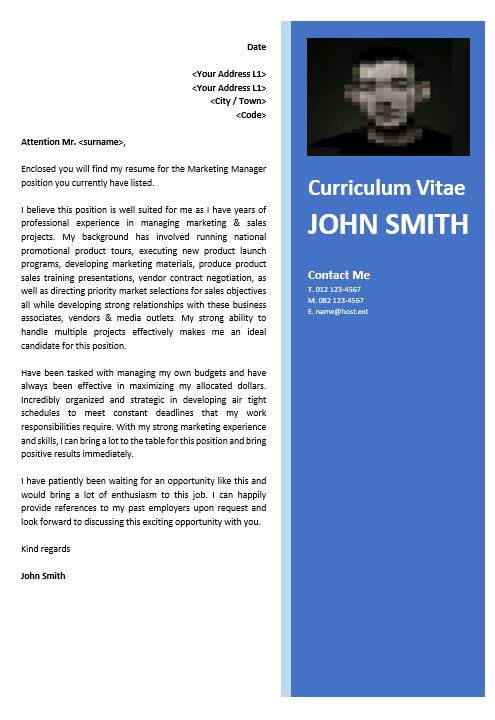 Professional CV Zone, Premium Cover Letter